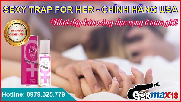 Nước Hoa Kích Dục Nam Sexy Trap For Her Chính Hãng